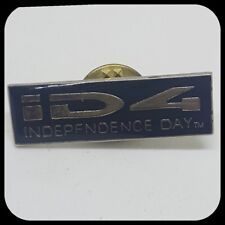 VINTAGE Independence Day Film Pin Badge 90s Nostalgia Memorabilia Will Smith