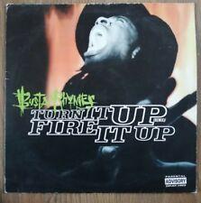 "Busta Rhymes – Turn It Up (Remix) / Fire It Up   [12""  VINYL] VGC"
