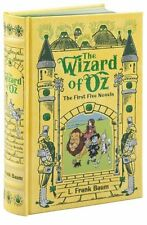 *New Sealed* THE WIZARD OF OZ: The First Five Novels *Illustrated Leatherbound*