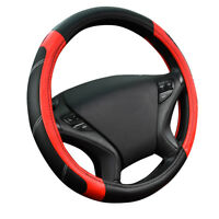 Carpass New Arrival Classic Red Black PopularPu Leather Car Steering Wheel Cover
