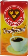 Brazilian Coffee Tres Coracoes Traditional 17.6oz Vacuum Sealed Pack