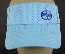 Scion Toyota Automobiles Cars Light Blue Sun Visor Baseball Hat Cap Adjustable