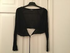 Delicate Black Shrug From TopShop by Rare Size -  XS - Bargain