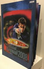 Doctor Who The Official Annual book 2008 by BBC HC 9781405903554  Free Post