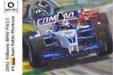 Coffee Mug 2001 Williams BMW FW23 #6 Juan Pablo Montoya (COL) by Toon Nagtegaal