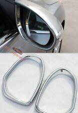 Chrome side door Mirror rims frame trim For Mazda6 2009 2010 2011 2012