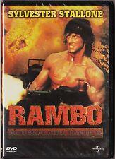 RAMBO: ACORRALADO parte 2 con Sylvester Stallone. UNIVERSAL, 2001