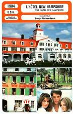 FICHE CINEMA : HOTEL NEW HAMPSHIRE - Lowe,Foster,Kinski,Bridges 1984