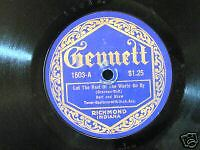 GENNETT RECORDS  HART AND SHAW , JACK KAUFMAN ART HALL