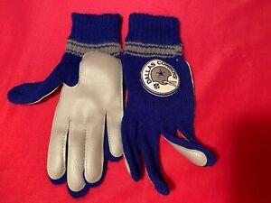 Vintage 70s 80s NFL Dallas Cowboys Gloves Winter NOS
