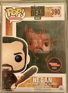 Plastic Empire Exclusive Autographed Jeffery Dean Morgan 'Negan' Funko Pop!