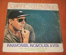 """Adriano Celentano 45 Giri """" INNAMORATA INCAVOLATA A VITA-SE NON E' AMORE """" Clan"""