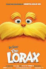 THE LORAX NEW DVD