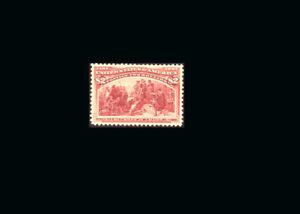 US Stamp Mint, OG Hinged, Super b S#242 Jumbo Margins, Perfect Centering PF CERT