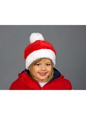Weihnachtsmütze Burschimütze für Kinder aus Plüsch XMAS Weihnachten