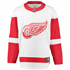 NHL Detroit Red Wings Branded Away Breakaway Jersey Shirt Top Mens