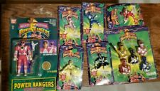 Vintage 90s Mighty Morphin Power Rangers Action Figure Lot Free Shipping