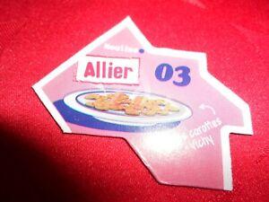 LE GAULOIS AIMANT DEPART'AIMANTS / DEPARTEMENTS ALLIER 03 MOULINS