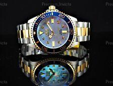 ➤Invicta Men's 47mm GRAND PRO DIVER 0.03 CARAT DIAMONDS Two Tone White MOP Watch