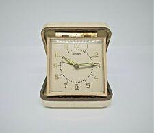 Vintage Seiko travel alarm clock.