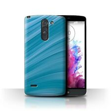 STUFF4 Back Case/Cover/Skin for LG G3 Stylus/D690/Teal Fashion