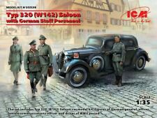 ICM 35539 1:35th scale Typ 320 Mercedes W142 Saloon with German Staff Personnel