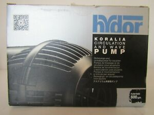 New HYDOR EVO 600 KORALIA Circulation and Wave Pump