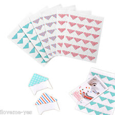 6 Sheet Color Instant Film Photo Pictures DIY Corner Sticker for Instax Mini