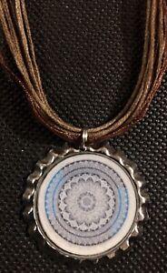 Mandela Bottle Cap Necklace