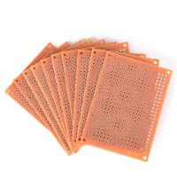 10Pcs 5 x 7cm DIY Prototype Paper PCB Fr4 Universal Board Prototyping PCB Kit Fp
