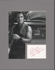 Burt Reynolds. Authentic autograph. Signed Deliverance tribute. Boogie Nights.