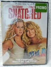 SNATCHED Amy Schumer Goldie Hawn (DVD + DIGITAL HD, 2017 Widescreen) New Sealed