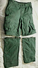 Boy Scouts Switchback Uniform Pants ZipOff Shorts Six Youth 16 – used