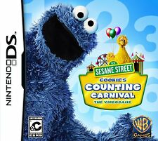Sesame Street: Cookie's Counting Carnival Nintendo DS DSi XL Brand New