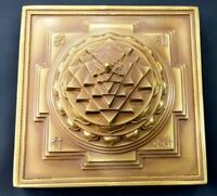 Shree Yantra / Meru Shree Yantra / Shri Yantra - In Panchdhatu- ENERGIZED ITEM