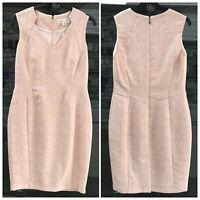 Damsel in a Dress Dusty Pink Crepe Shift Dress Size UK-14 EU-42 US-10 AUS-14