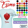 "Essmo™ Matte Solid Heat Transfer Vinyl HTV T-Shirt 20"" Heat Press Easy To Weed"