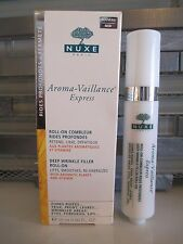 NUXE AROMA-VAILLANCE EXPRESS DEEP WRINKLE FILLER ROLL-ON 0.50 OZ BOXED