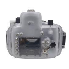 Mcoplus 40m/130ft Waterproof Camera Underwater Housing Diving Case for Nikon