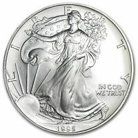 1995 US Mint $1 American Silver Eagle 1 oz Silver Coin Direct From Mint Tube