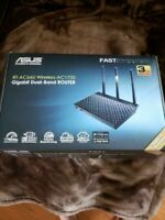 ASUS RT-AC66U_B1 Dual-Band WiFi Router-please read! Low radiation version.