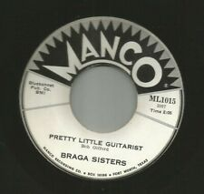 TEEN DOOWOP + ROCKER - BRAGA SISTERS-  PLAY MY REQUEST  - HEAR -1961 TEXAS MANCO
