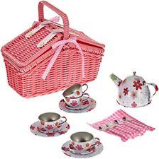 Small FootCcompany 9980 - Picknickkorb Blechgeschirr 18 teile