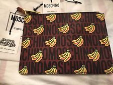 SALE SS16 Moschino Couture Jeremy Scott Super Mario Banana Pouch / CLUTCH