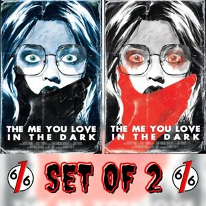 🚨😱 THE ME YOU LOVE IN THE DARK #1 HUTCHISON-CATES 616 Variant Set LTD 500 COA