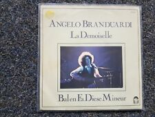 Angelo Branduardi - La demoiselle 7'' Single SUNG IN FRENCH