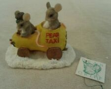 """Christmas Charming Tails """"Pear Taxi"""" Silvestri by Dean Griff #87/565 - Mint"""