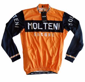 OCG Cycling Orange Black Molten Arcore Long Sleeve Shirt Mens Medium