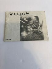 Willow Manual Only Nintendo NES