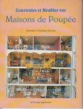 RECOURA Christophe et Dominique / Construire et Meubler vos Maisons de Poupée